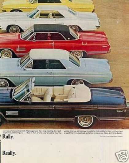 Buick Cars Ad Centerfold (1964)