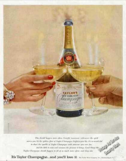 Taylor's New York State Champagne Collectible (1957)