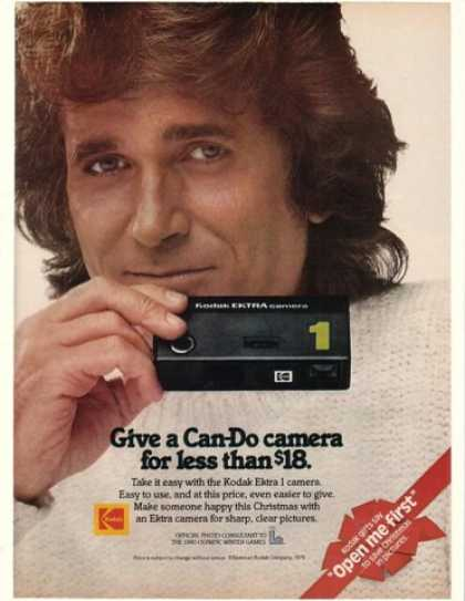 Michael Landon Photo Kodak Ektra 1 Camera (1979)