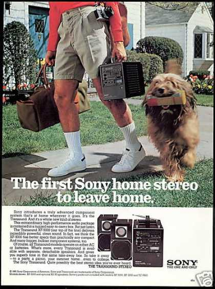 Sony Transound Component Stereo Photo (1981)