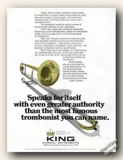 King Trombones Nice Color (1976)