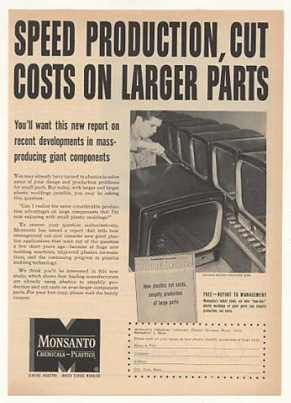 Monsanto Plastic Chicago Molded Products TV Cab (1953)