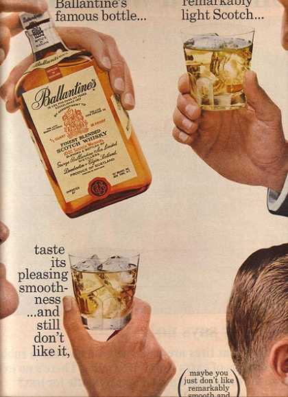 Ballantine's Finest Blended Scotch Whisky (1965)