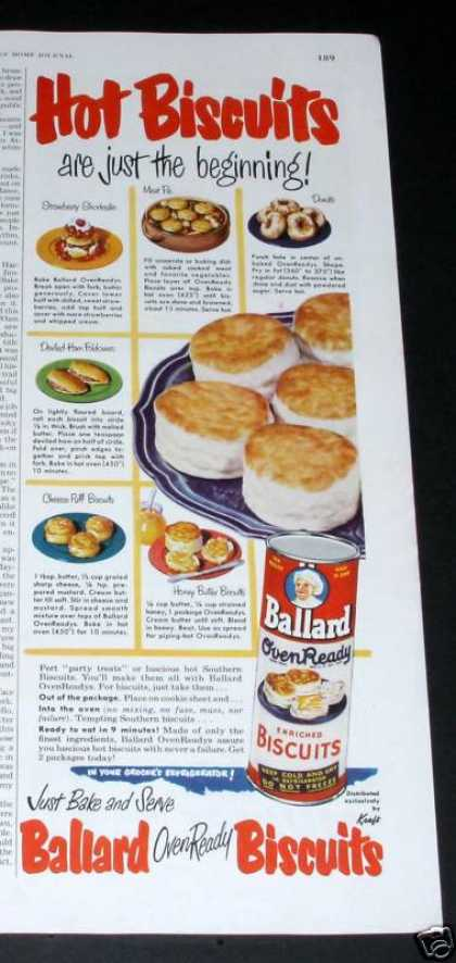 Ballard Oven Ready Biscuits (1950)