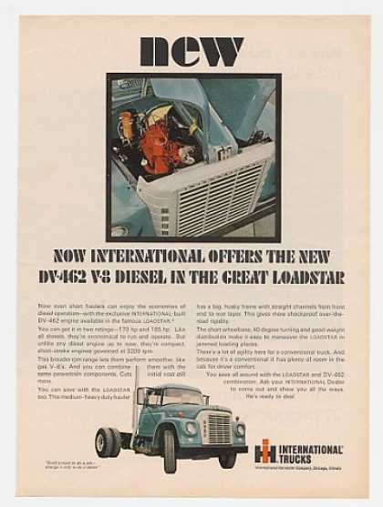 IH International DV-462 Diesel Loadstar Truck (1966)