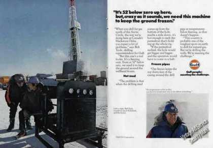 Drilling N of the Artic Circle 52 Below Gulf (1978)