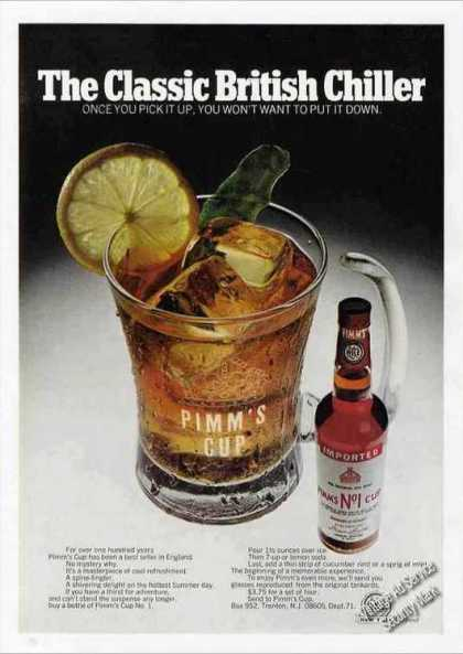 "Pimm's Cup No. 1 ""Classic British Chiller"" (1971)"