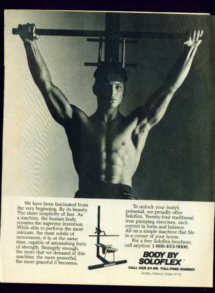 Buff Hunk In Body By Soloflex C Ad Gay Interest (1982)