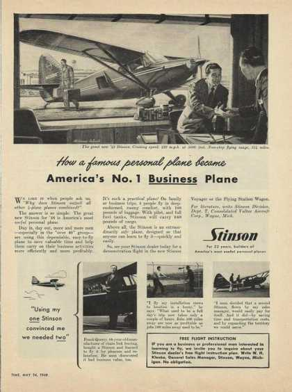 Stinson Personal Airplane (1948)