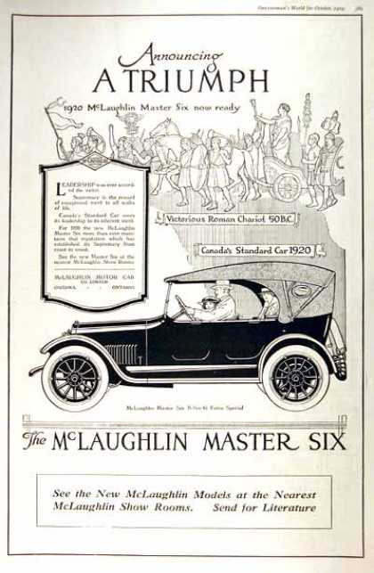 McLaughlin Master Six (1920)