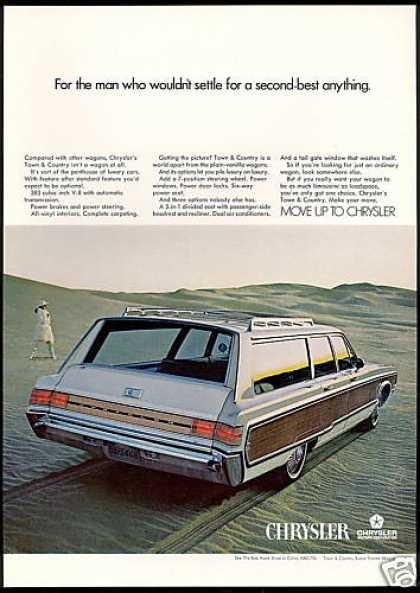 Chrysler Town Country Wagon Car Photo (1968)