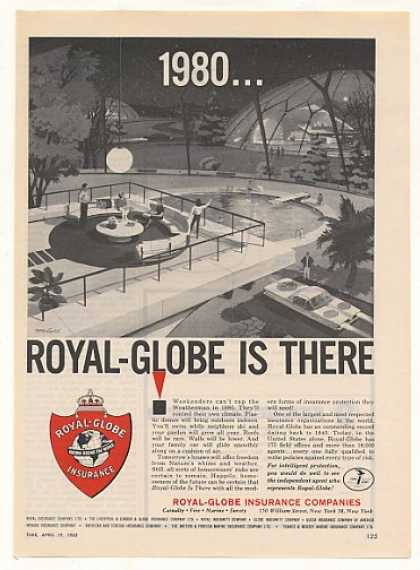 '63 Royal-Globe Insurance Futuristic 1980 Dome House (1963)