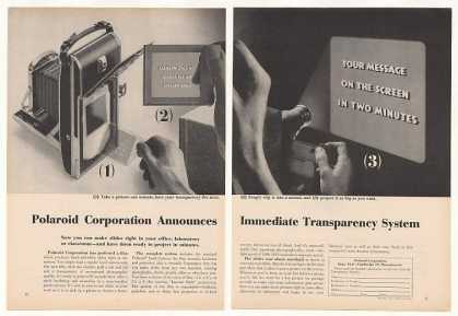 Polaroid Land Camera Transparency System (1957)