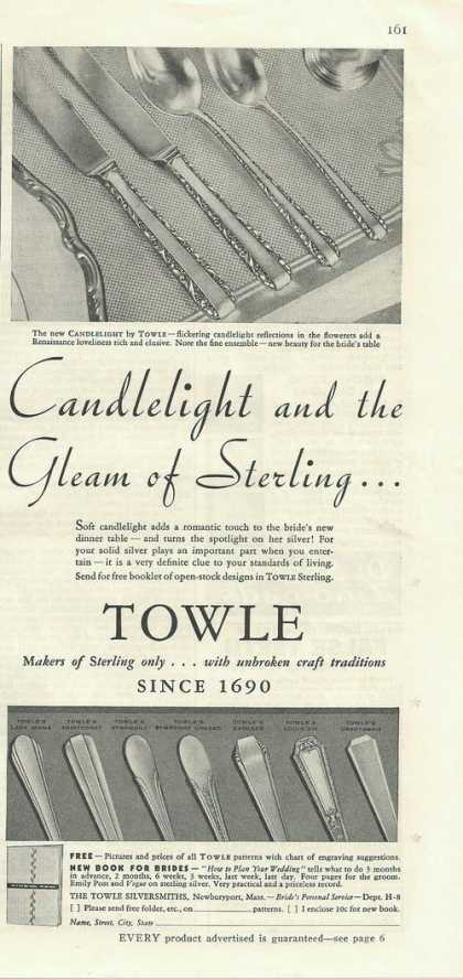 Towle Sterling Silver Flatware (1935)
