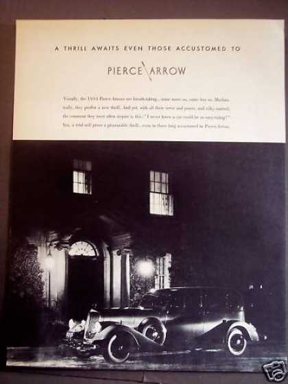Pierce Arrow Classic Car (1934)