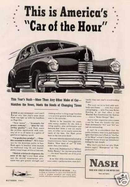 "Nash Car Ad ""This Is America's... (1942)"