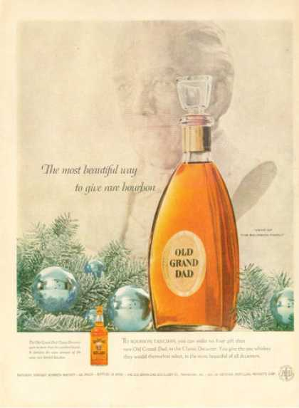 Old Grand Dad Bourbon Classic Decanter (1955)