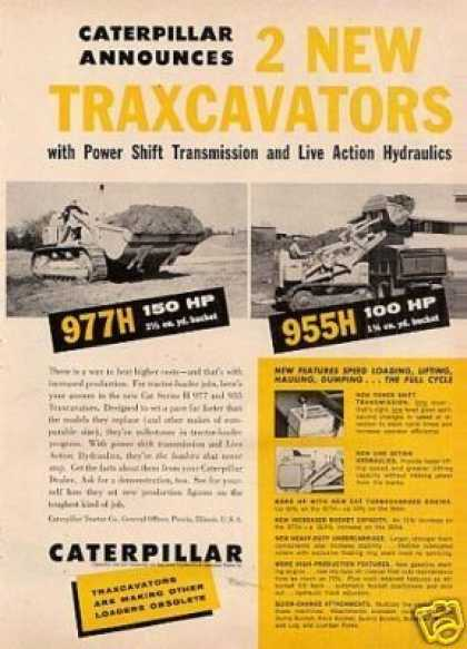 Caterpillar Traxcavators Tractor (1960)