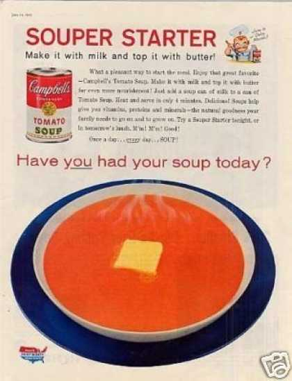 Campbell's Tomato Soup (1958)