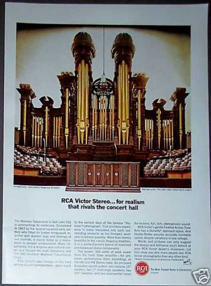 Salt Lake Tabernacle Organ Rca Victor Stereo (1967)