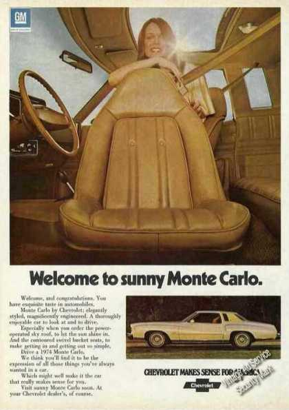 "Chevrolet ""Welcome To Sunny Monte Carlo"" (1974)"