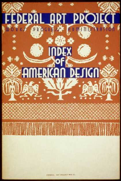 Index of American Design. (1936)