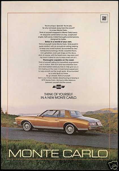 Chevrolet Monte Carlo Photo Vintage (1979)