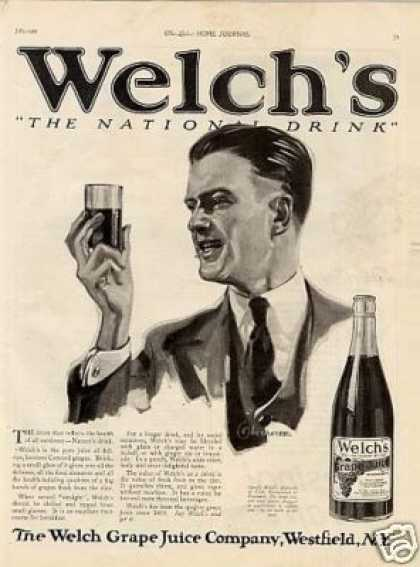 Welch's Grape Juice (1921)