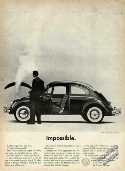 "Vw Volkswagen Steam From Radiator ""Impossible"" (1961)"
