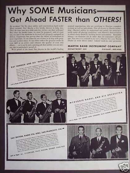 Martin Band Instruments Photo (1938)