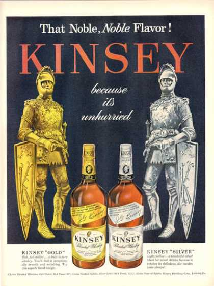 Kinsey Whisky Knights In Armor (1948)
