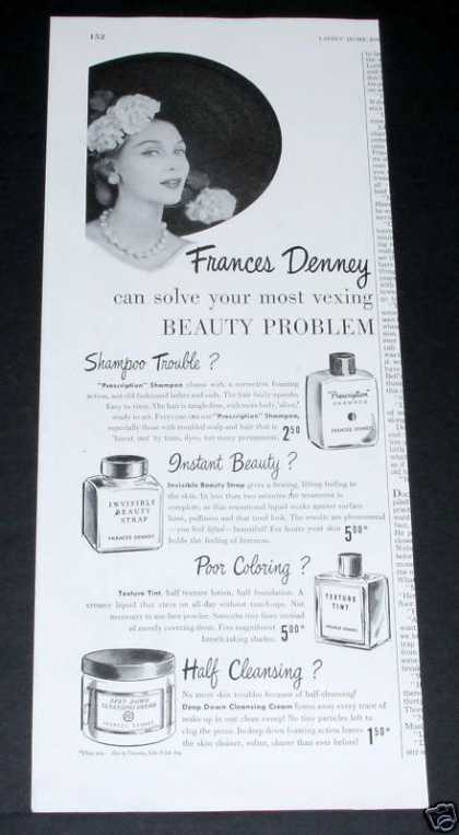 Frances Denney Beauty Products (1951)