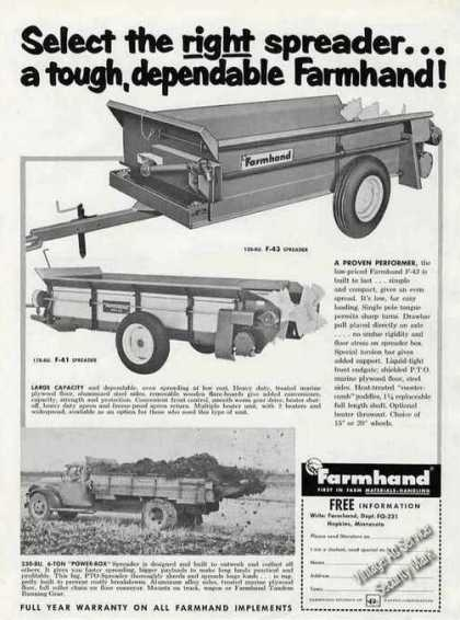 Farmhand Spreaders Farm (1963)