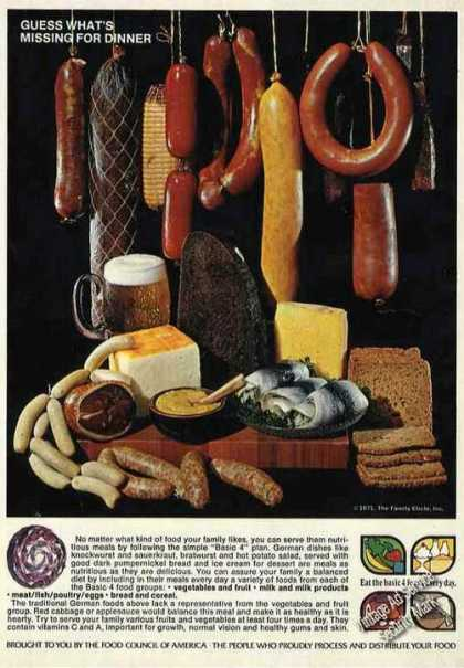 Meat & Cheese Photo What's Missing-vegetab (1971)