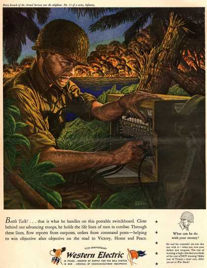 Western Electric's Radio – Battle Talk (1944)