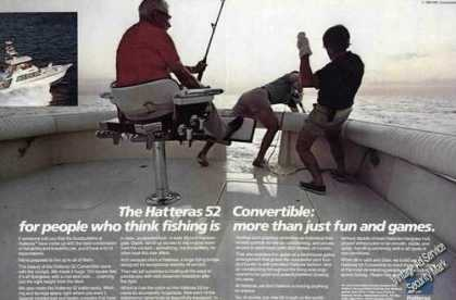 "Hatteras 52 Convertible ""More Than Fun & Games"" (1985)"