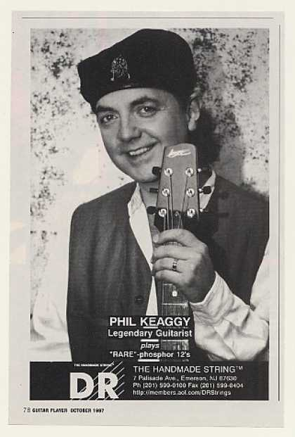 Phil Keaggy DR Guitar Strings Photo (1997)
