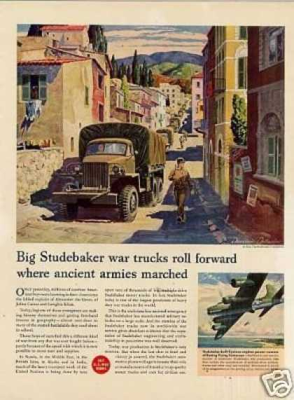 Studebaker Military Trucks (1944)