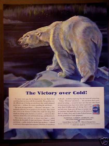 Prestone Anti-freeze Polar Bear (1940)