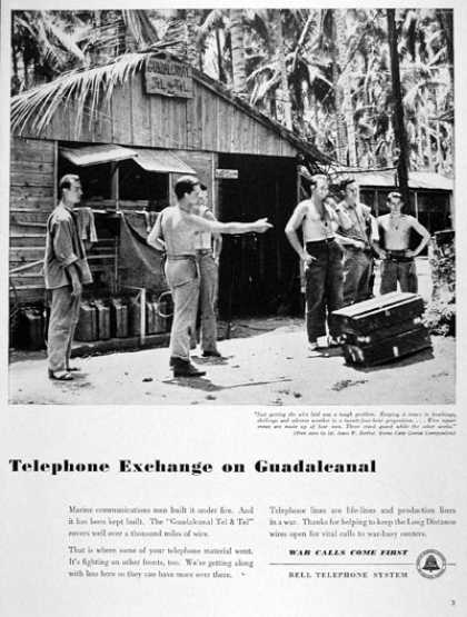 Bell Telephone Guadalcanal (1943)