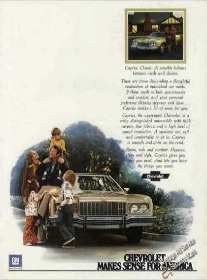Chevrolet Caprice Classic Very Attractive Car (1974)