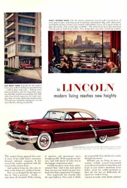 Lincoln Capri 2-door (1952)