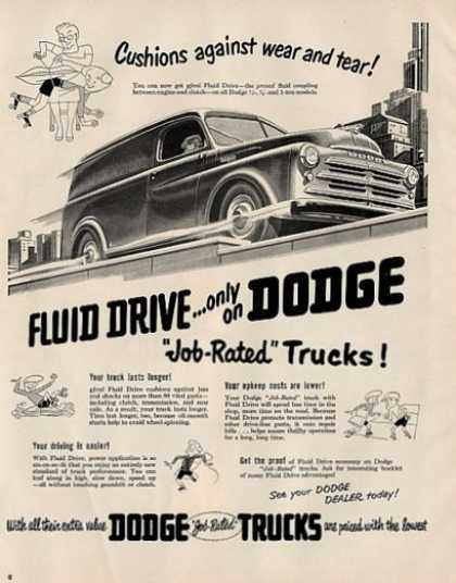 Dodge Illustrated Truck (1950)