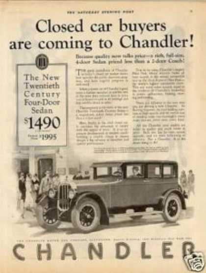 Chandler Four-door Sedan (1925)
