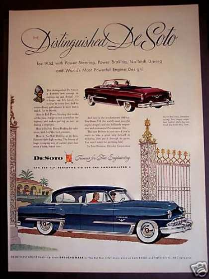 Original Distinguished Desoto Car (1953)