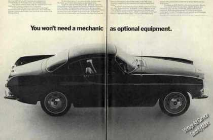 "Volvo 1800s ""You Won't Need a Mechanic"" (1967)"