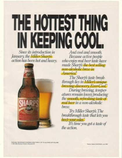 Miller Sharp's Beer Hottest Thing Keeping Cool (1990)