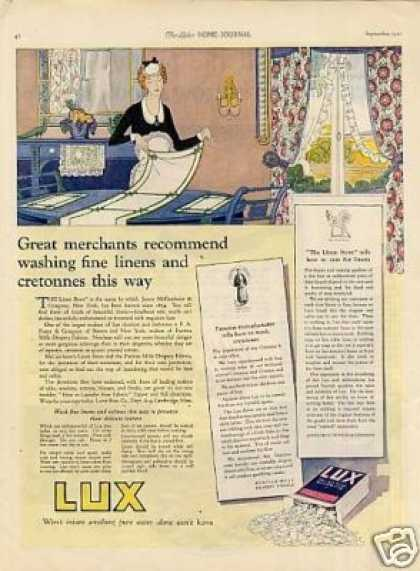 Lux Soap Detergent Color (1921)