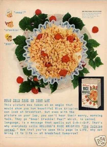 Kellogg's Rice Krispies Cereal (1952)
