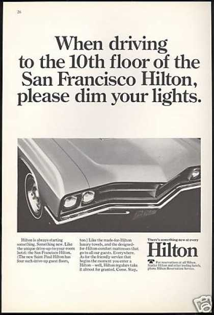California San Francisco Hilton Hotel (1967)